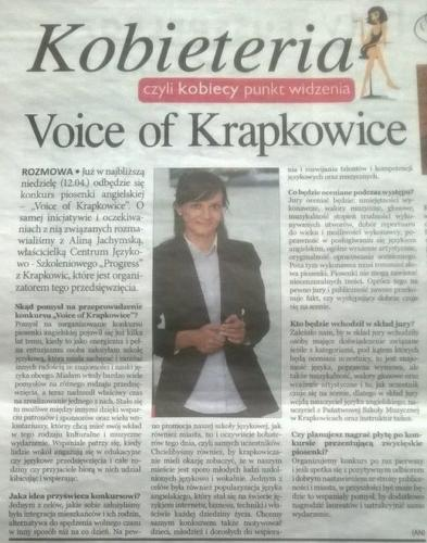 voice of krapkowice
